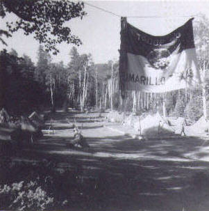 Entry into camp