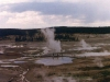 Scenes from Old Faithful Geyser Basin
