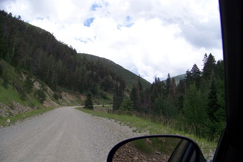 Road from Questa to camp